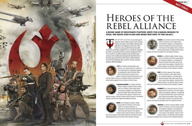 Rogue One : A Star Wars Story [Lucasfilm - 2016] - Page 4 793145w122
