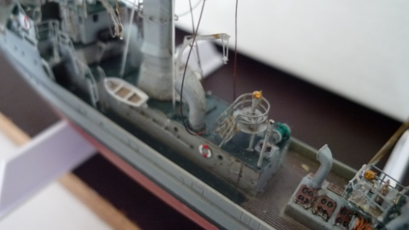 Dragueur de mine allemand SMS M50 au 350ème 795247P1010450