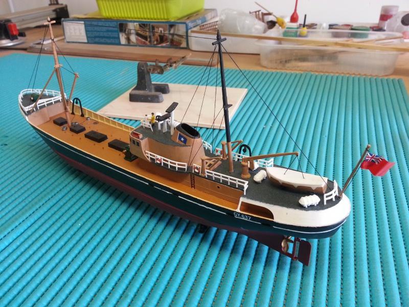 NorthSea Fishing Trawller de Revell au 1/142° - Page 3 79649920160329180827