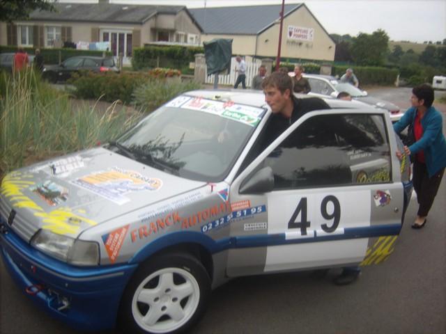 31è Rallye Tessy sur Vire Gouvets 2012 (vérifications techniques)  796768Sep01803