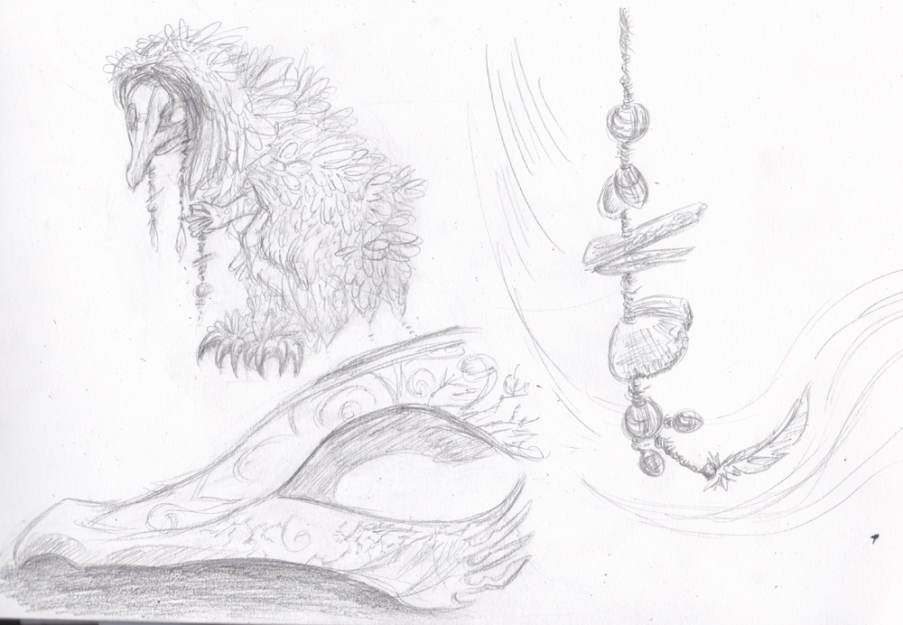 Dragons, chimères et créatures arc-en-ciel - Page 6 799683croquispeupledelaube