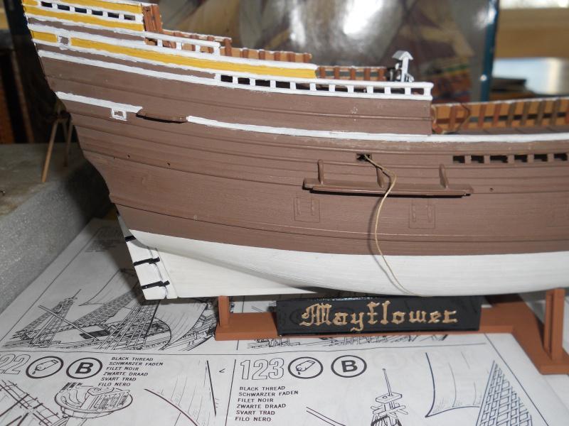 le Mayflower de Revell au 1:83  - Page 2 800907DSCN9567