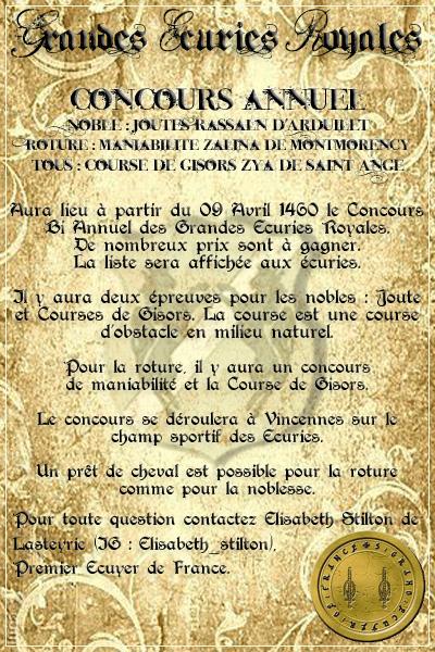 De la Hérauderie Royale - Page 3 801388Concoursavril1460