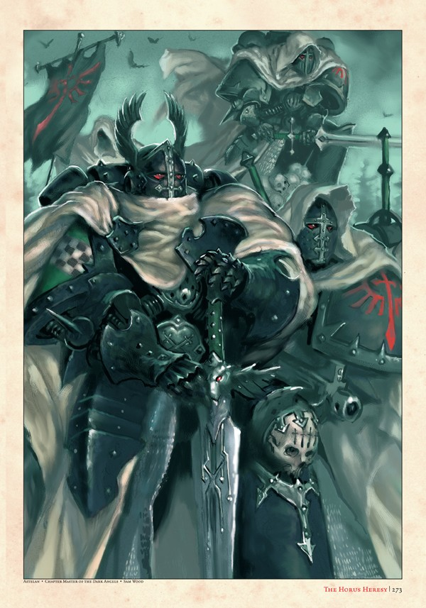 The Horus Heresy : Collected Visions (Artbook) 801756collectedvisions2