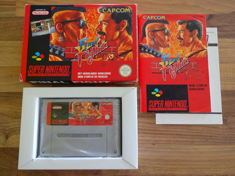 Prupru's Collection ! 100% Super Nintendo et 200% Super Comboy !! - Page 18 803194FinalFightFAH