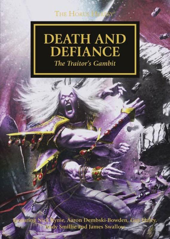 [Horus Heresy] Death and Defiance - Anthologie 804217DeathandDefianceCMYK