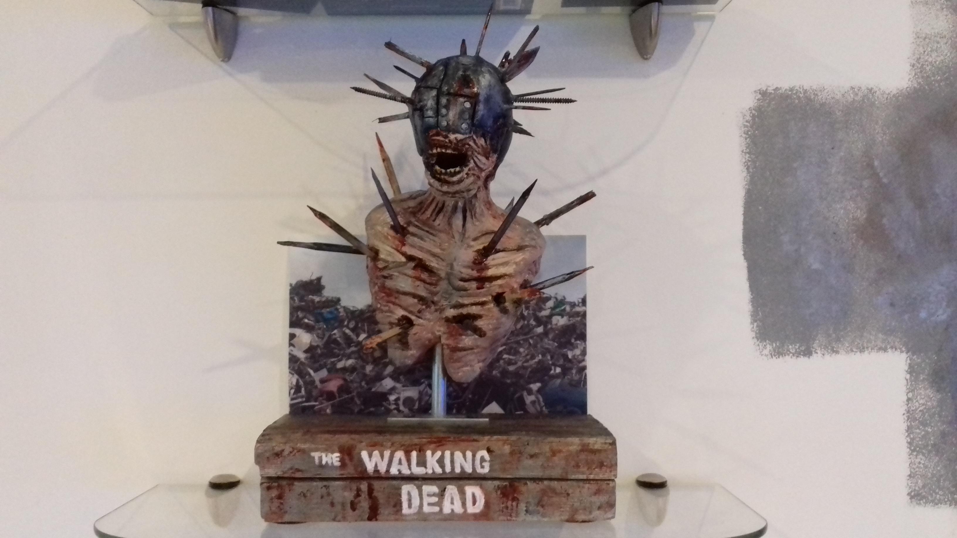 mini bust walking dead zombie saison 7 80572720180108084013
