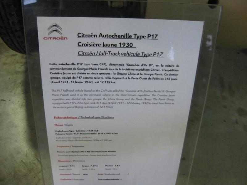 Visite au Conservatoire CITROËN en 2010 806676IMG0136