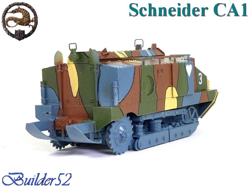CHAR SCHNEIDER CA 1 - HOBBY BOSS 1/35 807675P1040955