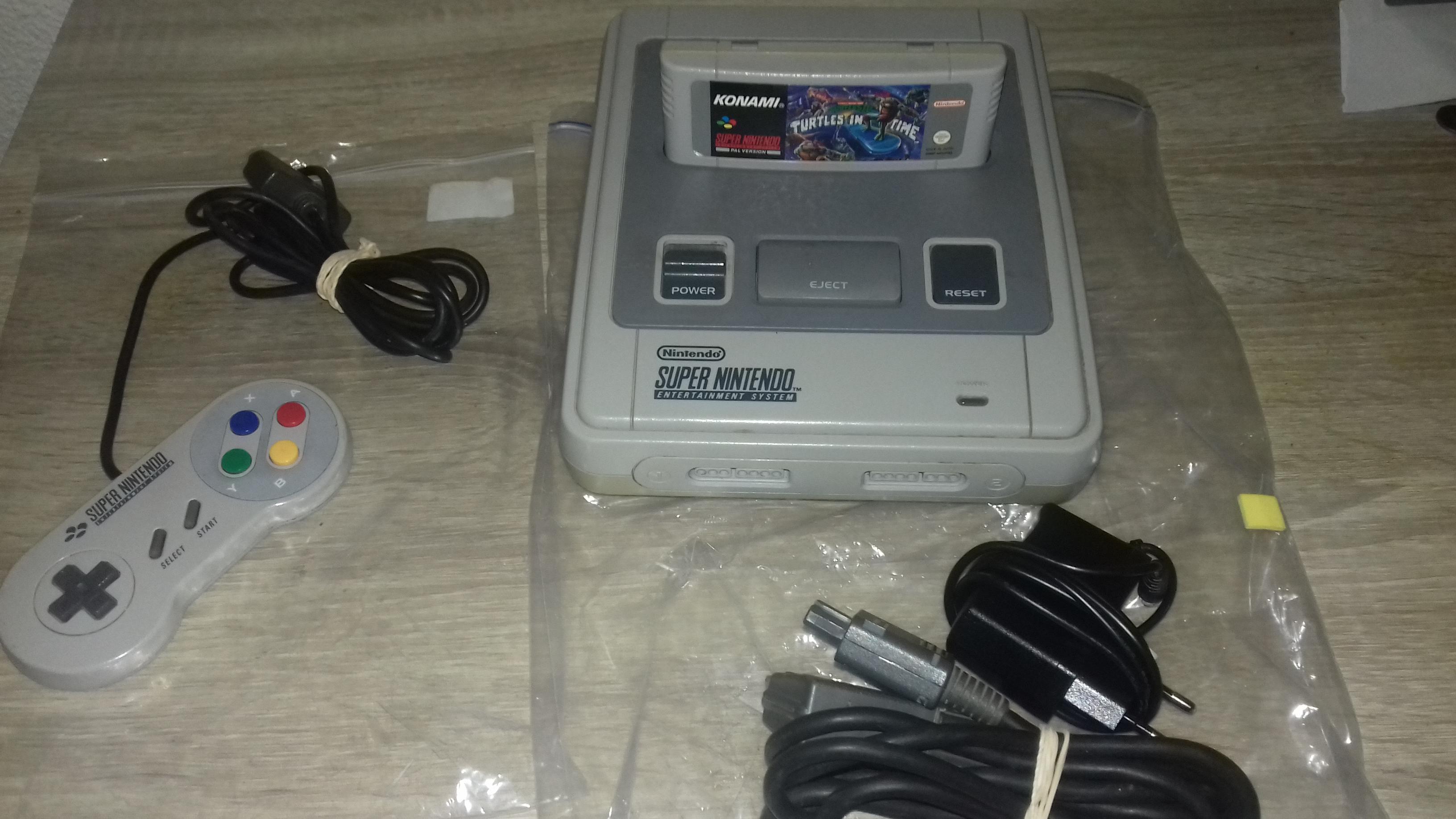 [EST] Console SNES + 1 jeux ( turles in time ) 80786920170606152307