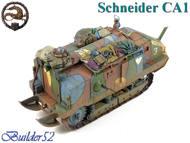 CHAR SCHNEIDER CA 1 - HOBBY BOSS 1/35 807940P1050071