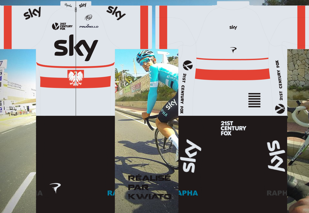 SKY Pro Cycling 808196skymaillotpolV2