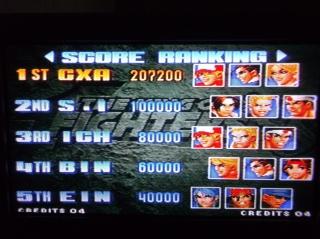 King of Fighters 98 809804DSCF05081