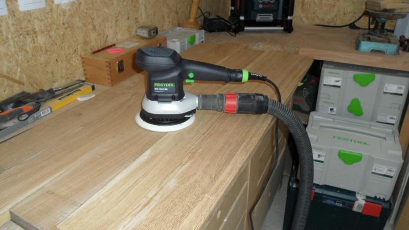 Création d'un meuble en chêne pour le salon 810680SAM1617