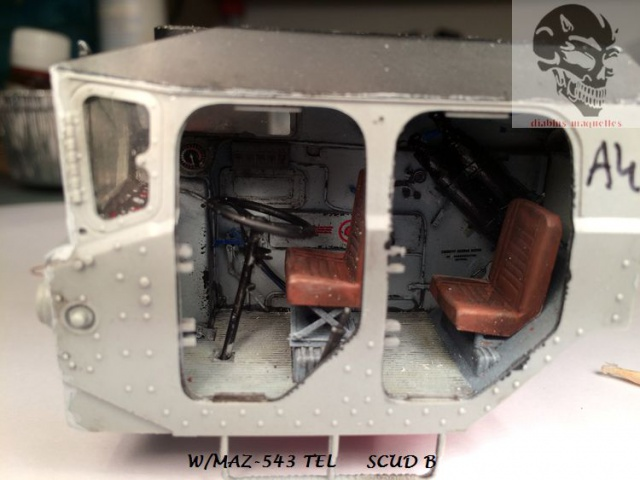 W/MAZ -543 TEL  SCUDB  maquette dragon 1/35 811003IMG4308