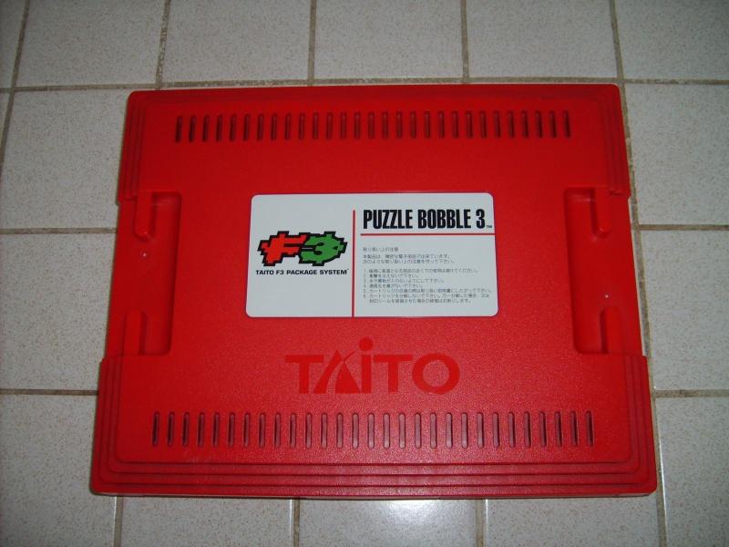 [VDS] Taito F3 Package System Jap avec 2 jeux, Puzzle Bobble 812496PB3