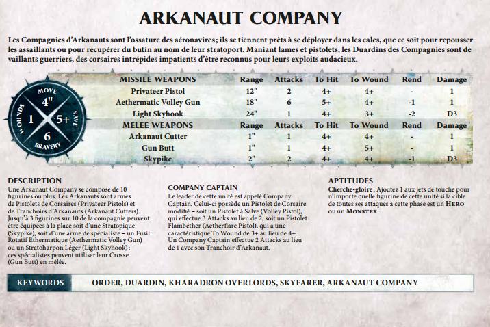 Kharadron Overlords [Reflexion sur les unités] 813081ArkanautCompagny