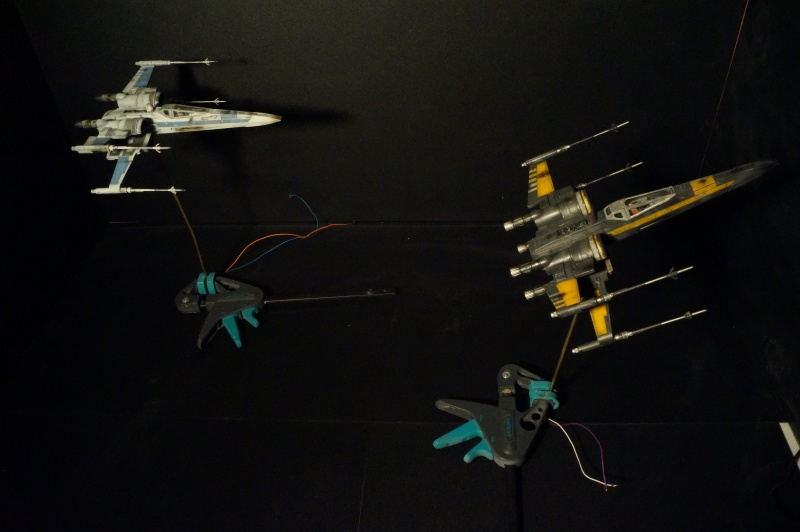 "X-Wing ""Resistance"" T-70 Bandaï 1/72 814686DSC01556"