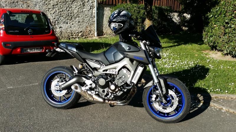 Photos de toutes les Yamaha MT-09 du forum ! :) 814713YPiticZeBiker