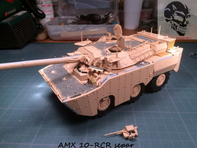 AMX 10 RCR SEPAR maquette Tiger Model 1/35 815134IMG3793