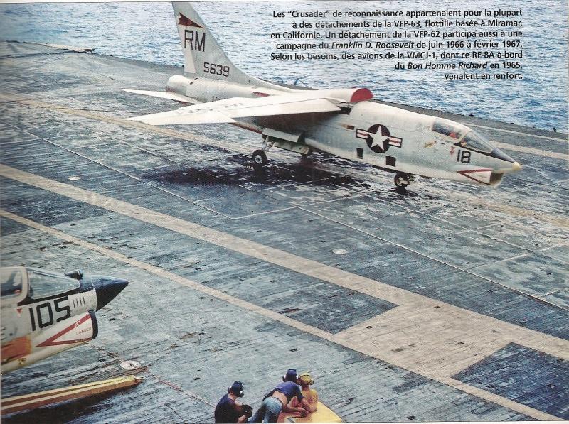VOUGHT F-8 CRUSADER  815181VoughtRF8AVMCJ1USSBonHommeRichardCVA311965
