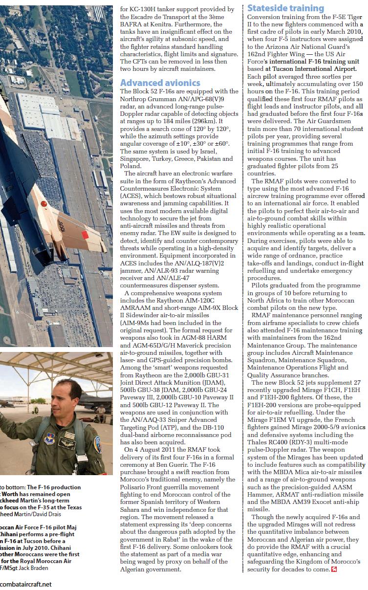 Moroccan F-16 Atlas Falcon / RMAF F16 block 52+ - Page 2 81540920130504114803
