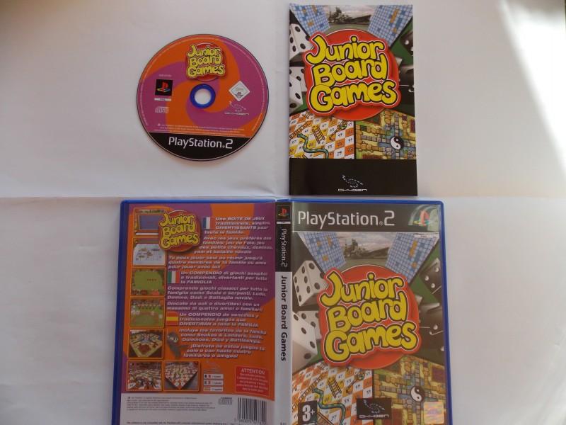 Junior Board Games 817100Playstation2JuniorBoardGames