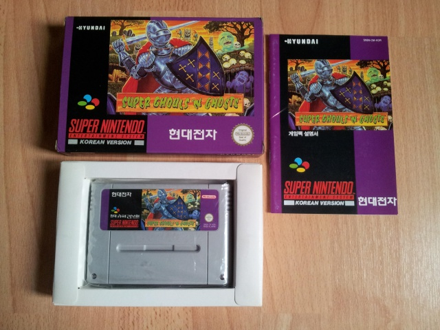 Prupru's Collection ! 100% Super Nintendo et 200% Super Comboy !! 818181SuperGhoulsnGhosts