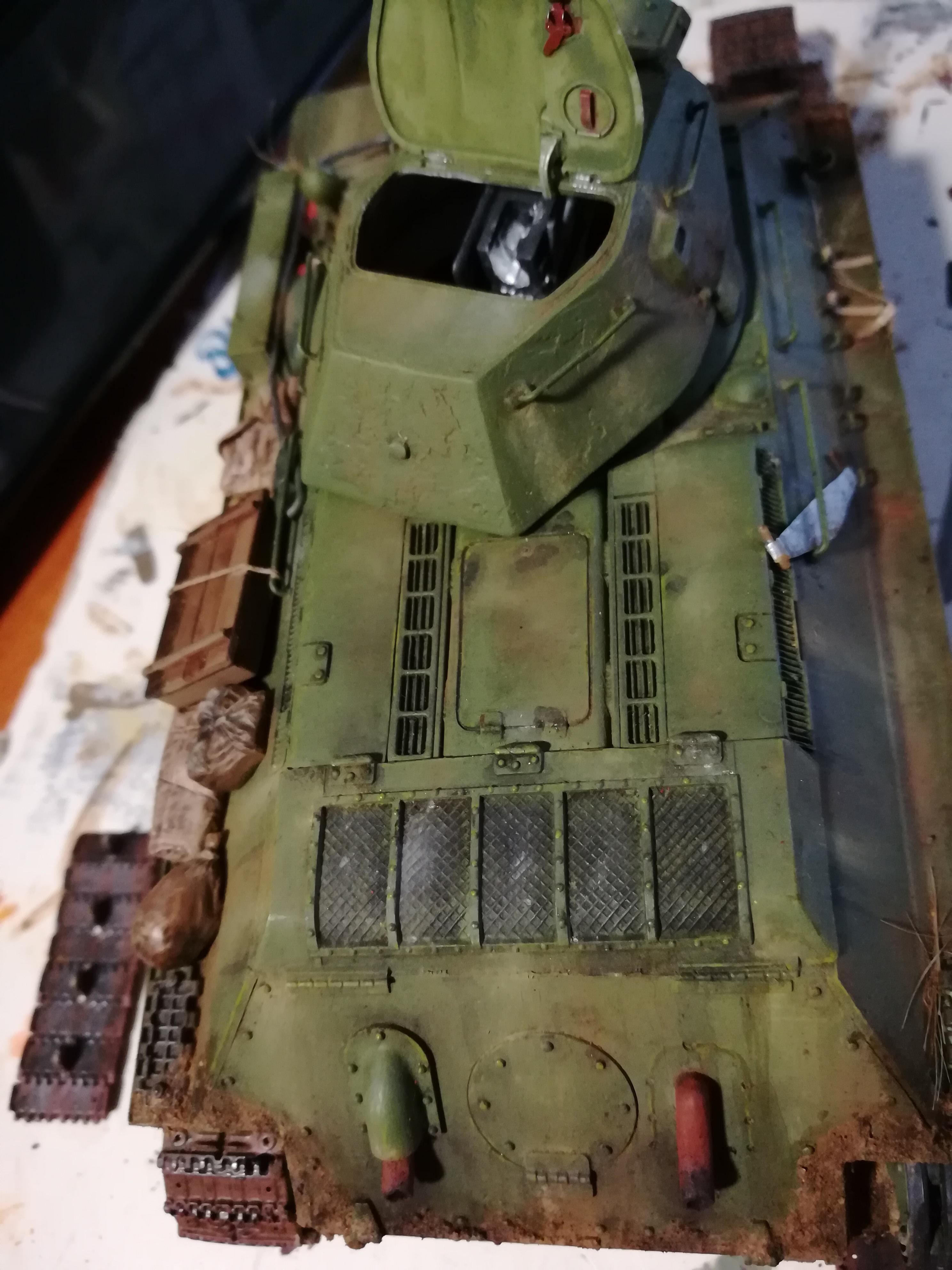 Front de l'Est, 1942 - T34 et Wehrmacht - Zvezda - 1/35 - Page 2 823804IMG20171210140333