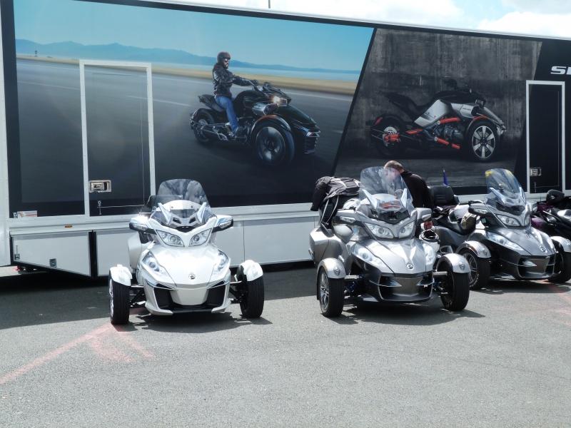 CR & Photos : TSO 17/05/15 : Essai du Can Am SPYDER F3-S et du RT-Limited 823925P1170703