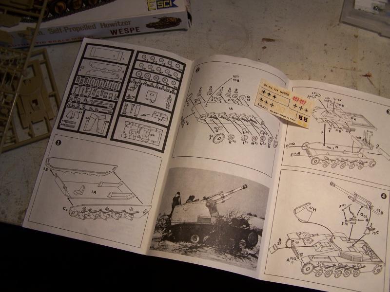 Sdkfz 124 Wespe Normandie 06.44 8254601005700