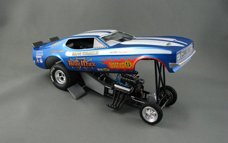 Blue Max Funny Car 827055bluemax0015