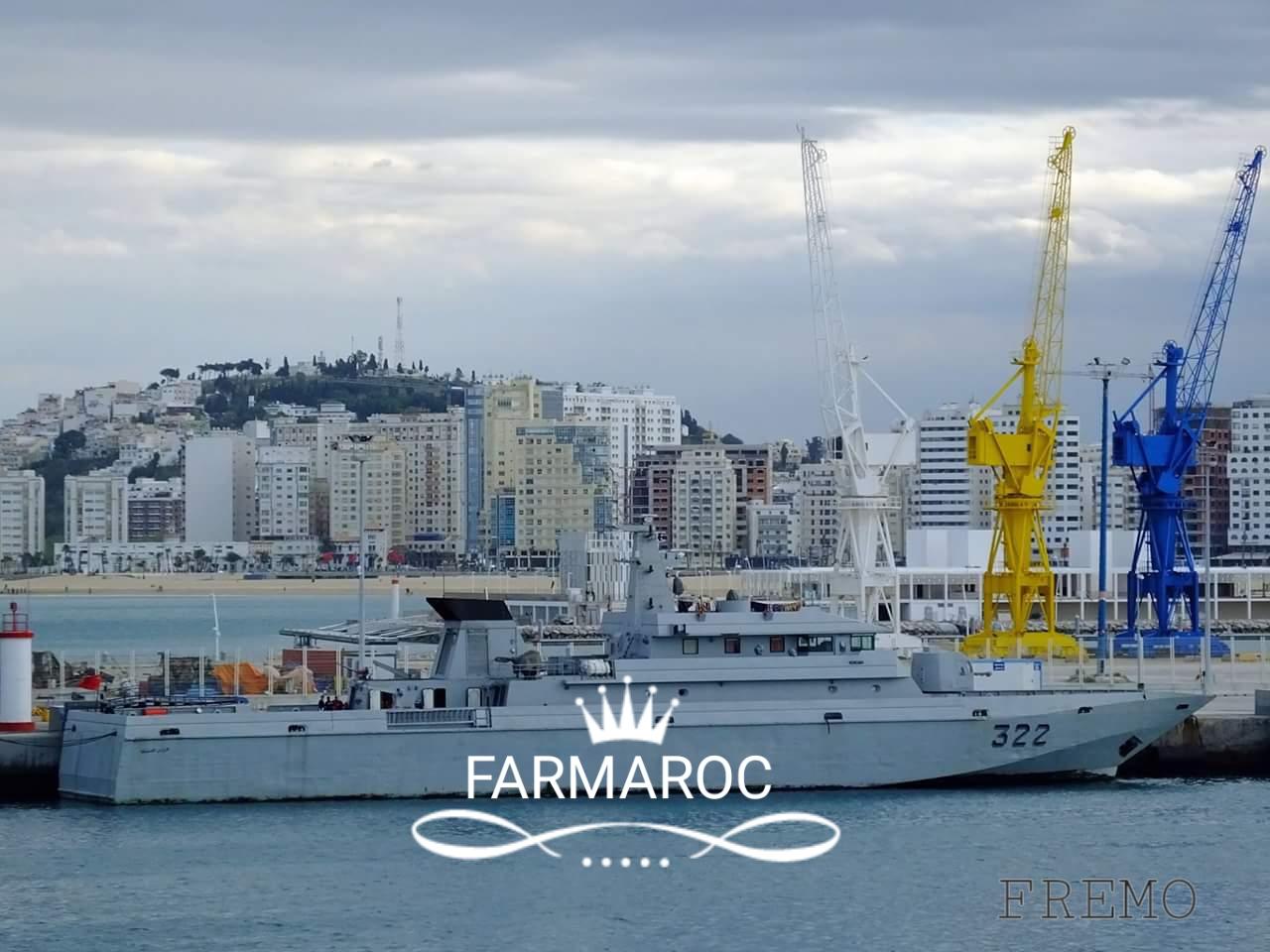 Royal Moroccan Navy Patrol Boats / Patrouilleurs de la Marine Marocaine - Page 13 82873020180105091524