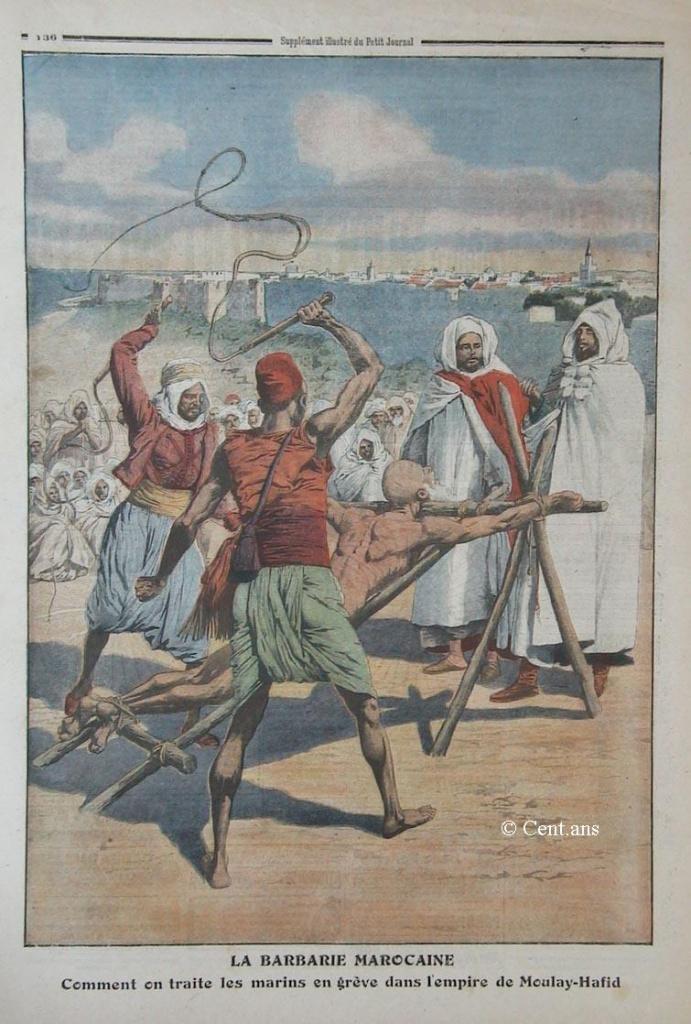 صفحات من تاريخ المغرب الحديث من خلال Le Petit journal illustré - صفحة 3 829282fala