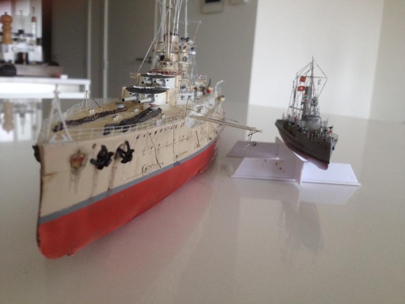 Dragueur de mine allemand SMS M50 au 350ème 830226IMG0427
