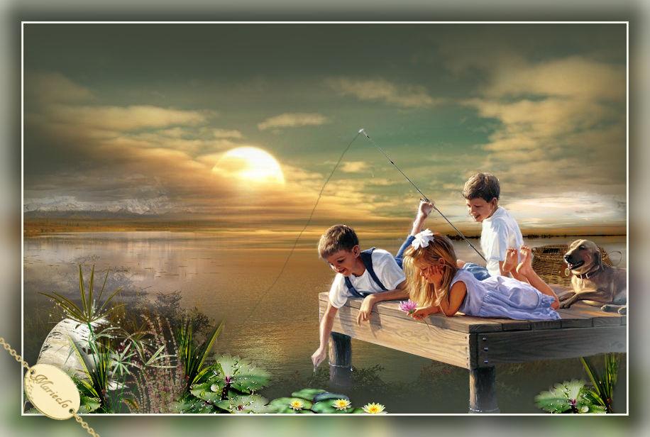 Coucher de soleil(Psp/Coups de pinceaux) 830888marieclo3