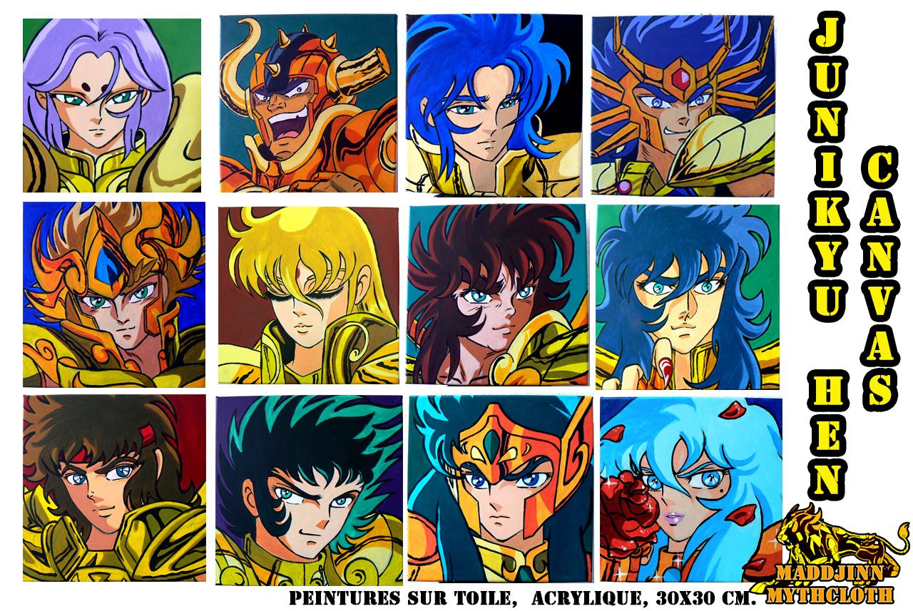 Maddjinn et ses peintures 12 toiles gold saints page 3 - Page 3 831517junikyuhencanvas