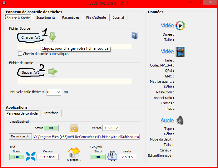 (Incrustations) Incruster des sous-titres avec Format Factory ou AVI Recomp (quand Virtual Dub ne marche pas) 832300010Akuj