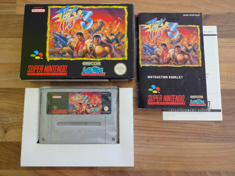 Prupru's Collection ! 100% Super Nintendo et 200% Super Comboy !! - Page 18 834802FinalFight3EUR