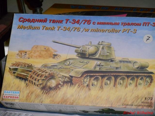 blindé russe 3    Le  T 34 Démineur 835153DSCN9963Copier