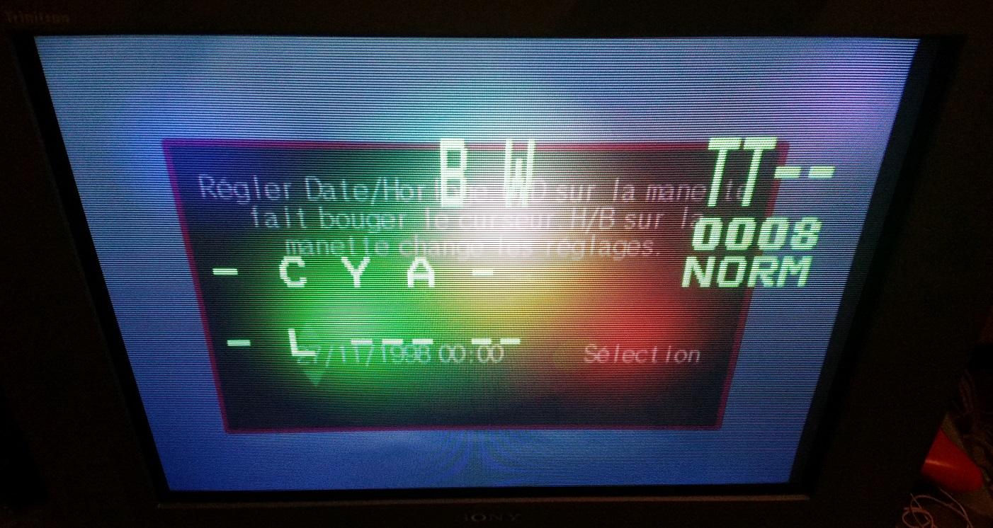 Probleme Sony Trinitron KV-29FX30B (connection tv / telecommande 83633620151105175941