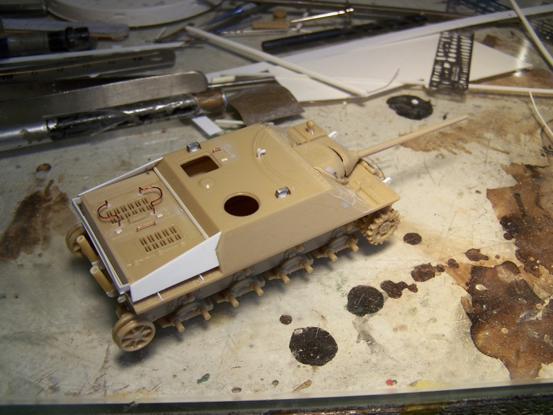 ( Esci 1/72) Jagdpanzer 4 L/70  (Terminé) 8381321005406