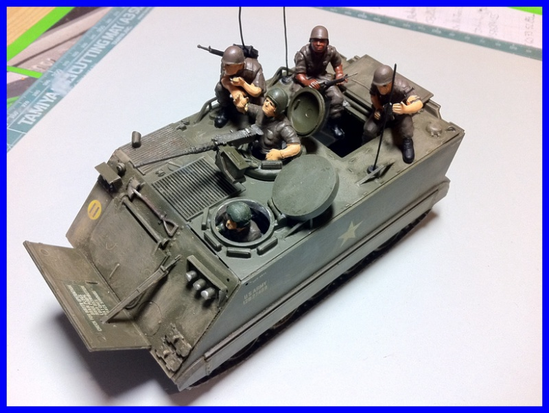 M 113 US ARMOURED PERSONNEL CARRIER 1/35 TAMIYA 838269photo5800x600