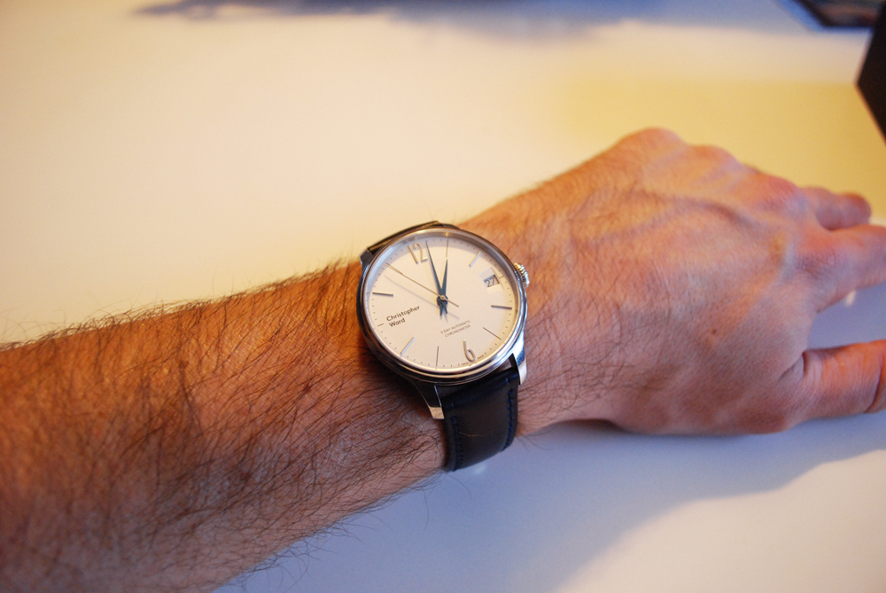 ward - Enjoy your new Christopher Ward C1 Grand Malvern 5 Day Automatic 839533wristshot1