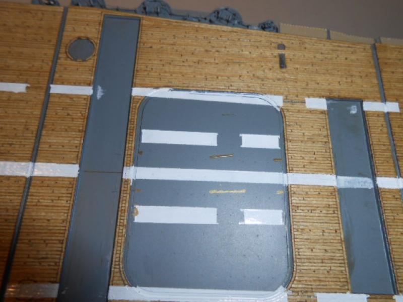 PA AKAGI 1/350 de chez Hasegawa PE + pont en bois par Lionel45 - Page 5 839786Peintureaka007