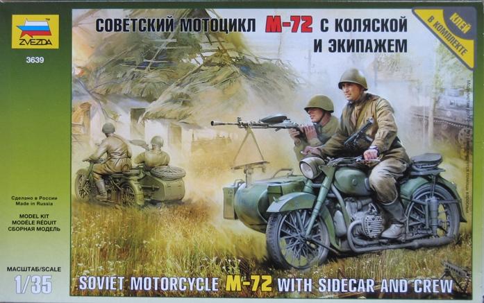 Moto URAL M-72- ZVEZDA 3639 - 1/35 (terminée) 841007modles113