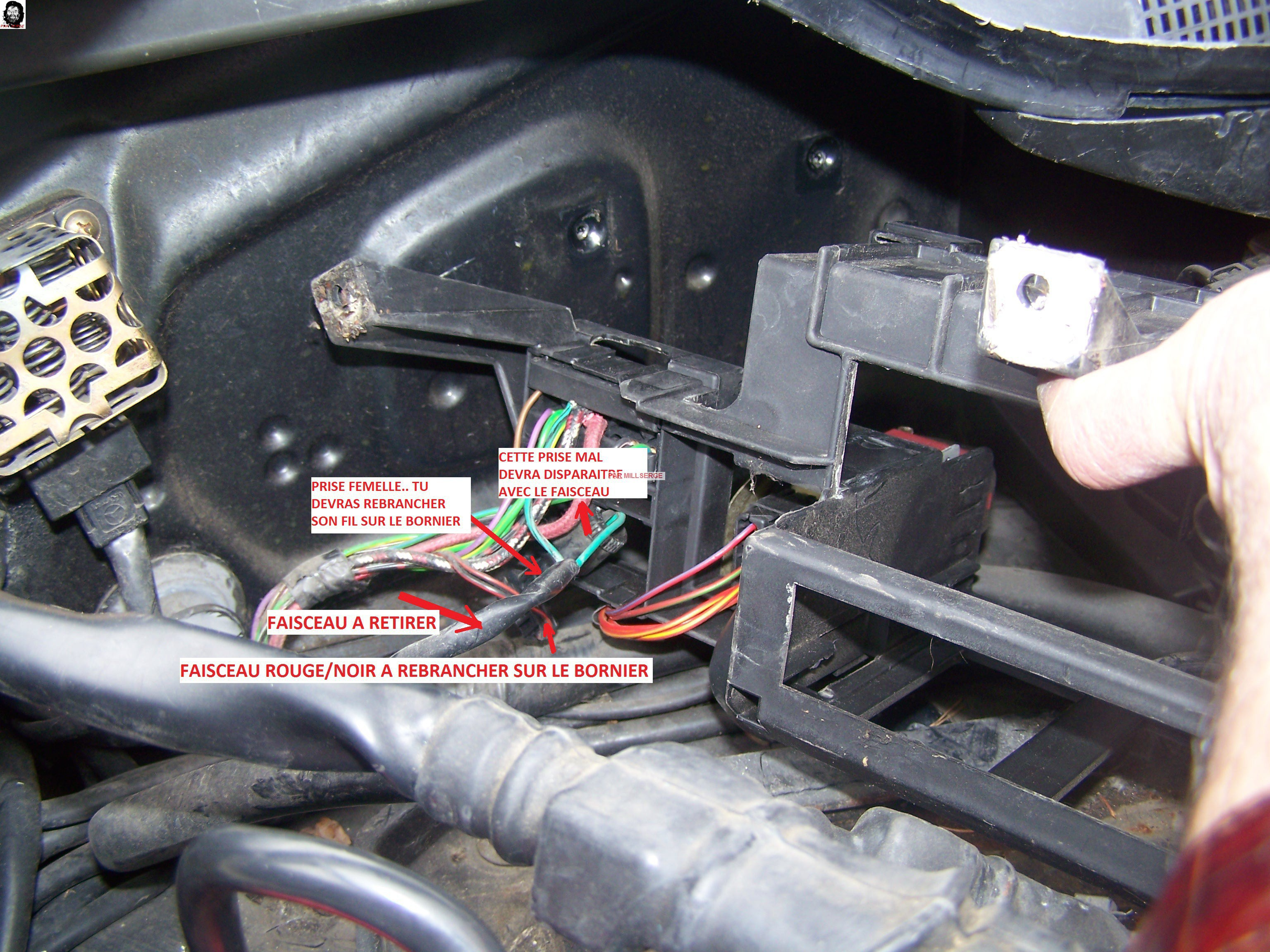 TUTO: Retrait d'une SERPI STAR MK 130-V 8410636Dmontagedusupportdesborniers