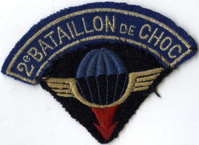 LES INSIGNES DU BATAILLON DE CHOC 1943/1963. 8417652meBataillondeChoc