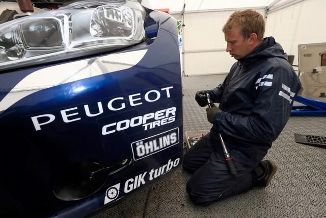 Les PEUGEOT 208 WRX enflamment la Suède - 2ème et 3ème en World RX et victoire en EURO RX 842580wrx201607020042