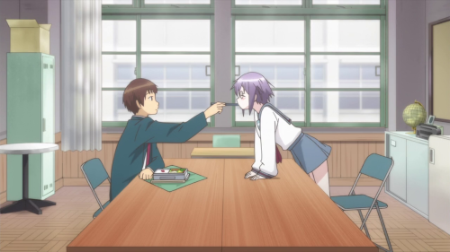 [MANGA/ANIME] Nagato Yuki-chan no Shoushitsu (The Disappearance of Nagato Yuki-chan) ~ 842717vlcsnap2015100517h06m51s203